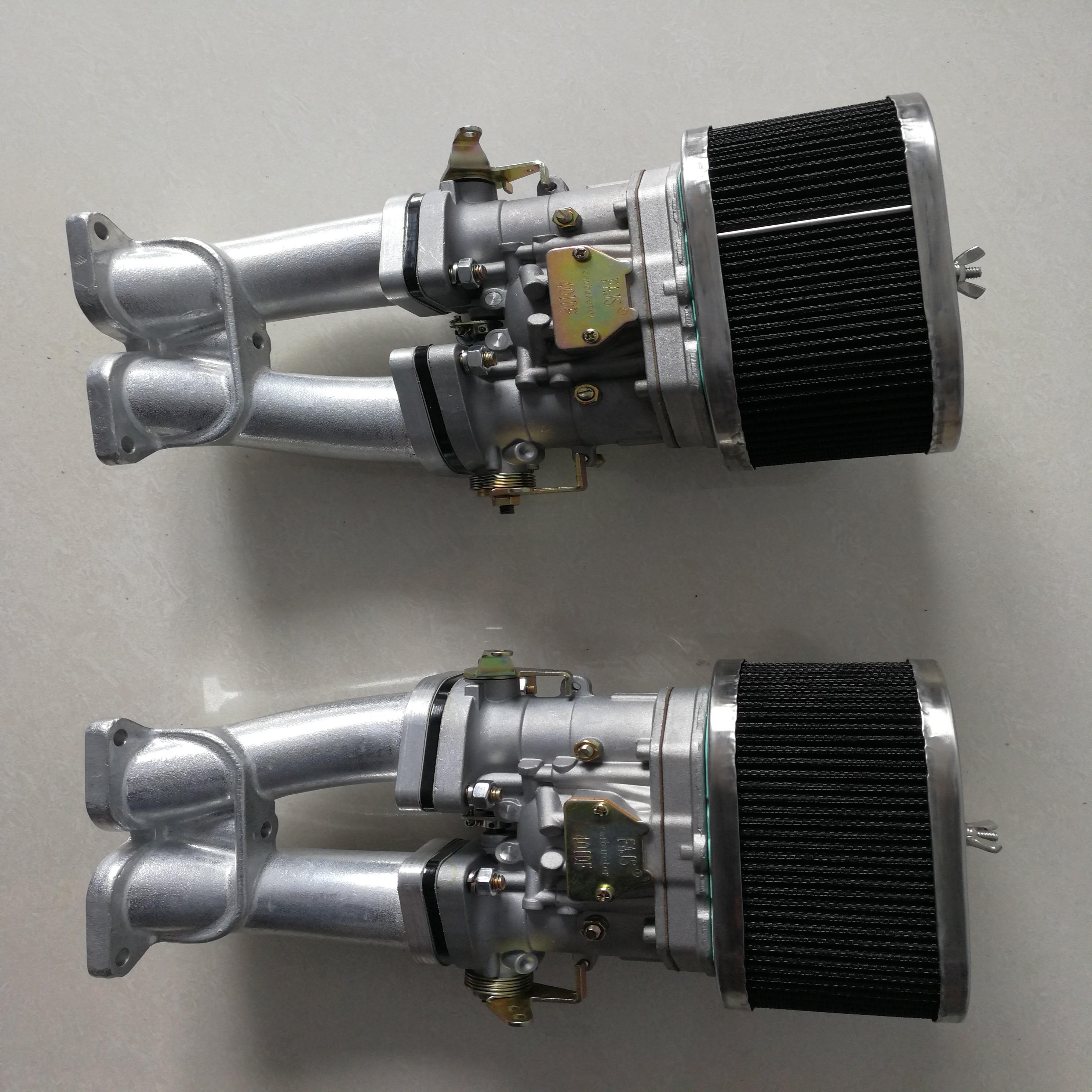 SherryBerg FAJS carburetor  carb conversion kit 48IDF 48 mm IDF T4 TYPE  48IDF Carbs for porsch 356A 356B 356C 356SC SC90 912