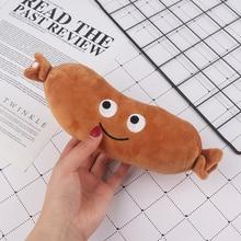 1Pc 20cm saucisse peluche jouets Mini peluche nourriture peluche poupées oreiller cadeaux créatifs nouveau