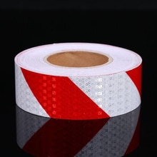 5cmx50m  High Visibility Self-adhesive PVC Reflective Safety Tape Road Traffic Construction Site Reflective Sign Sticker