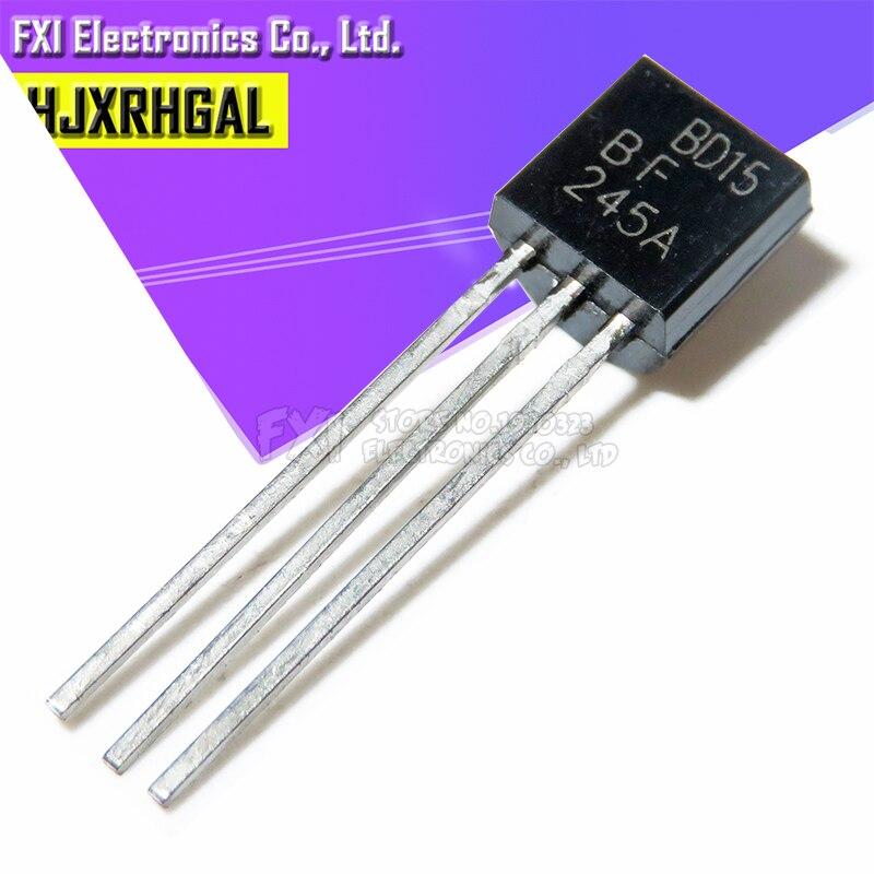 10 Uds BF245A BF245 a 92 TO92 transistor nuevo original