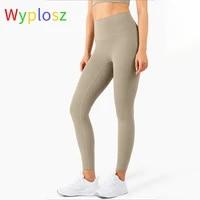 wyplosz leggings for fitness sports pants women yoga compression vital seamless nude comfortable big size gym high waist tight