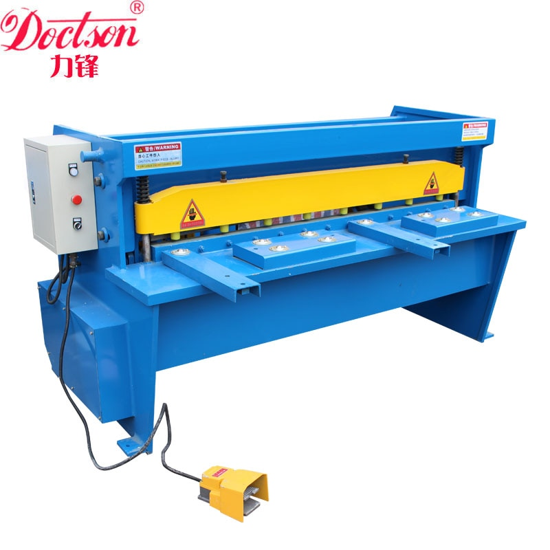 Q11 máquina de corte manual de chapa de metal/máquina de corte manual de pie de metal