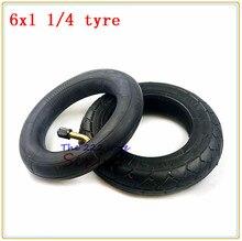 6*1,25 внутренняя труба шины 6x1 1/4 инфляция колеса шины для электрического скутера E-bike 6 дюймов 150 мм Скутер внешняя шина внутренняя шина