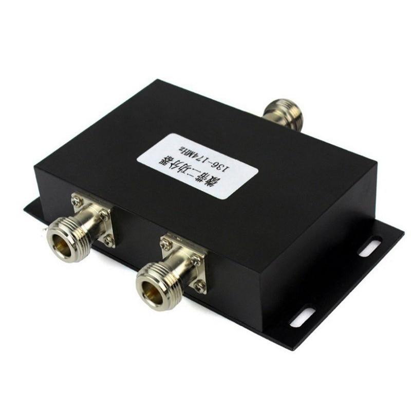 2 طريقة VHF 136-174MHz هوائي مُقسم القدرة الكهربية الفاصل لقوة مكرر الراديو
