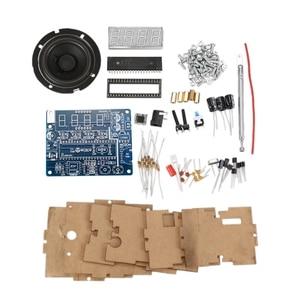 TEA5767 DC 4.5V-5.5V Diy Mini Digital FM Radio 87MHZ-108MHZ 2W 8ohm Speaker Electronics Kit - Arduino Compatible Kits & Diy Kits