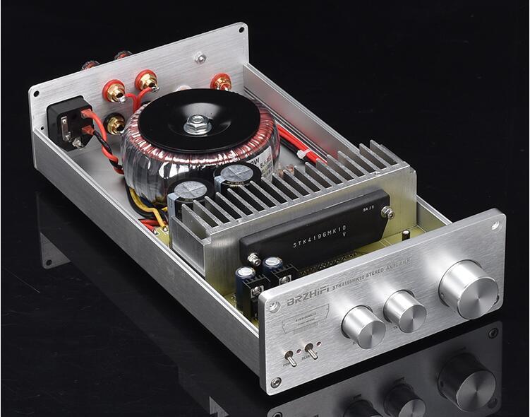 BRZHIFI nueva Sanyo película gruesa STK4196MK10 Bluetooth 5,0 HIFI fiebre amplificador