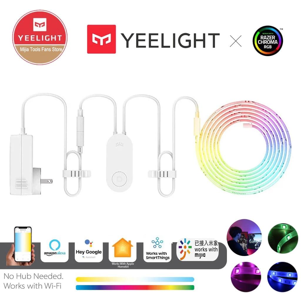 Yeelight RGB lightstrip 1S Intelligent light band Smart home Phone App wifi Colorful lamb LED 2M To 10M 16 Million 60 Led