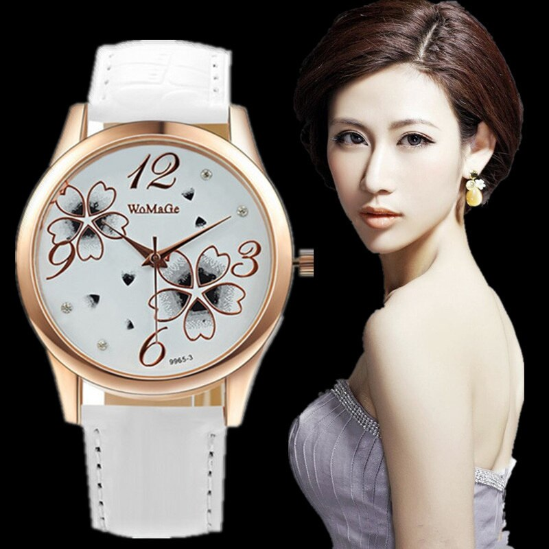 Women Wristwatch Womens Watches Fashion Ladies Watches Leather Watch Casual Wristwatches Quartz horl