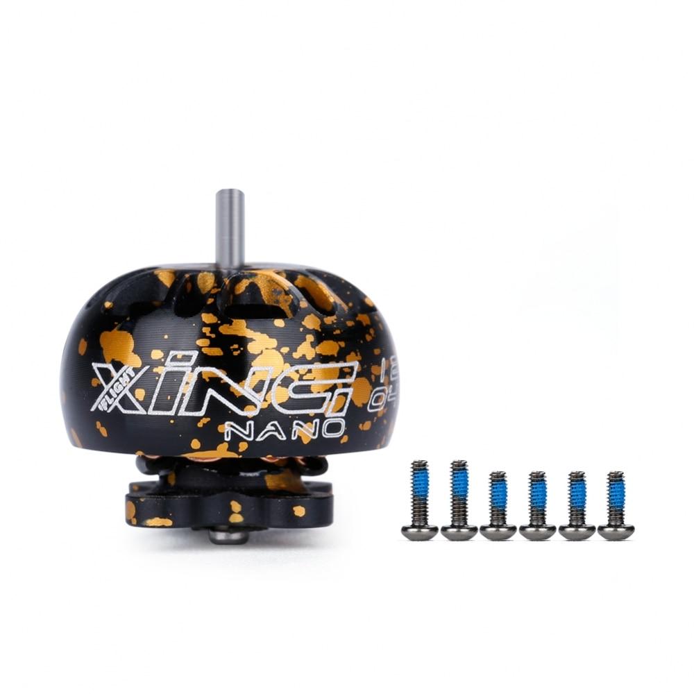 Iflight xing nano 1204 motor sem escova 4500kv 6500kv fpv nextgen motor de alta qualidade para rc diy fpv racing drone