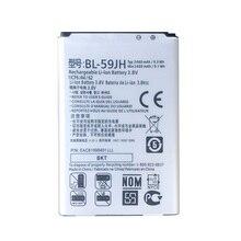 2019 Lithium 3.7V 2600mAh BL-59JH BL59JH Batterie BL 59JH Pour LG P715 Optimus L7 II Ludid2 F3 F5 P713 P710 Téléphone Batterie