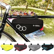 Sacs de vélo légers Triangle vélo avant Tube sac cadre sac de cyclisme outils vélo accessoires sac de vélo