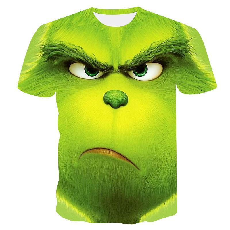 Camiseta informal de verano para hombre de camiseta de manga corta con...