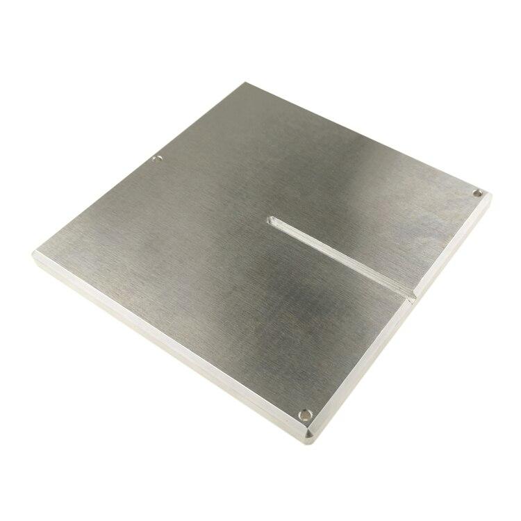 Funssor Voron 0 ملحقات الطباعة ثلاثية الأبعاد ساخنة دعم السرير فورمبلايت لوحة الألومنيوم Z-محور دعم لوحة