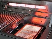 Brûleur à infrarouge à gaz en acier inoxydable 304   Pour bbq,kebab, séchage des biscuits/gants en caoutchouc, brûleur de cuisinière, coque en acier inoxydable