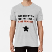 Proud T Shirt Guns And Ships Broadway Lin Manuel Miranda Musical Theatre Musical Theater