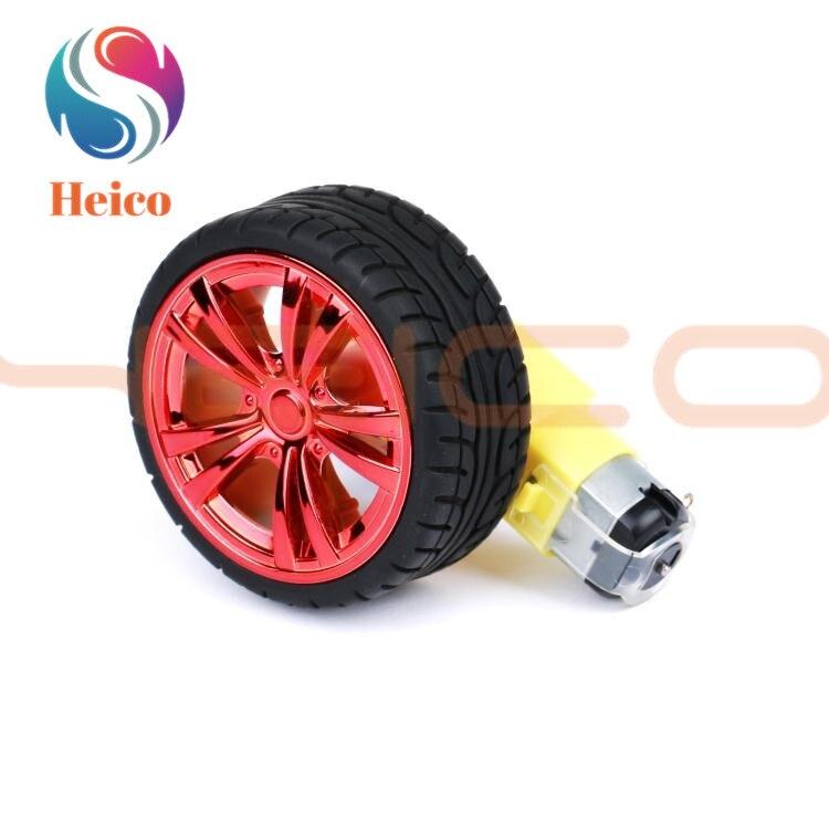 65 мм TT Мотор, колесо, робот, автомобиль�