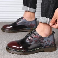 new high end fashion british style low top leather mens shoes classic banquet business formal wear plus size casual shoes