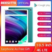 newest android tablets 4g network phone call 10 5 inch ips 1920%c3%971200 6gb ram 128gb rom 5g wifi mt6797 deca core tablet pc