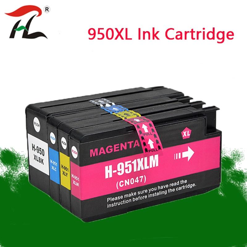 Cartucho de tinta Compatible para hp 950XL hp 951XL para hp 950, 950 de 951 Officejet Pro 8600, 8610, 8615, 8620, 8630, 8625, 8660, 8680 impresora