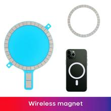 Magnet Sticker Wireless Charging Magnetic For IPhone 12 Pro Max Mini 11 XS XR Back Cover Strong Magn