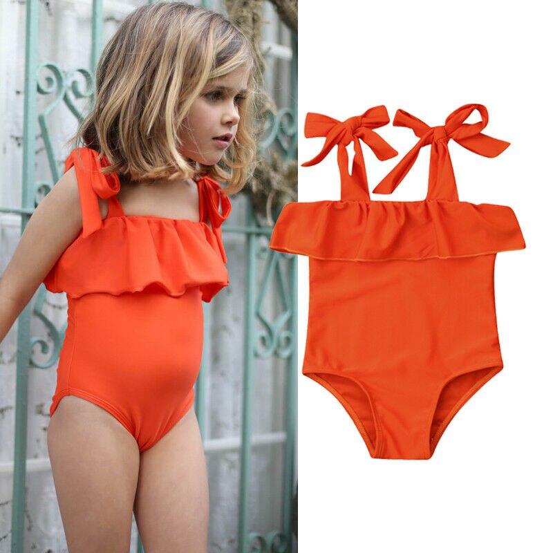 В наличии на складе в Великобритании, комплект бикини для маленьких девочек, купальник, купальник, пляжная одежда для купания