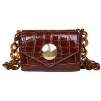 shoulder mini bag 2020 women trend designer chains leather luxury brand beach casual fashion vintage cute party crossbody