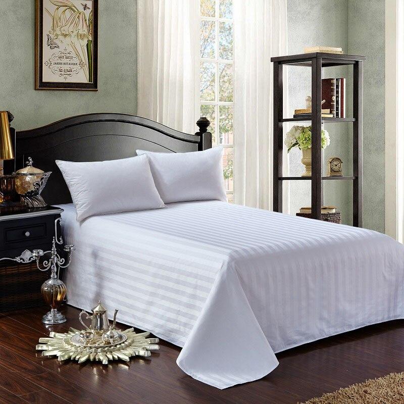 Thinck القطن خط بلون المفرش غطاء السرير الطويل رمي المنزل فندق نوم الفراش ديكور السرير حامي غطاء السرير