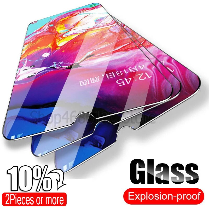 Gehärtetem Glas Für Samsung Galaxy A50 A30 Screen Protector Glas Für Samsung Galaxy A10 A51 M20 A20 A20E A40 A80 a70 A60 Glas