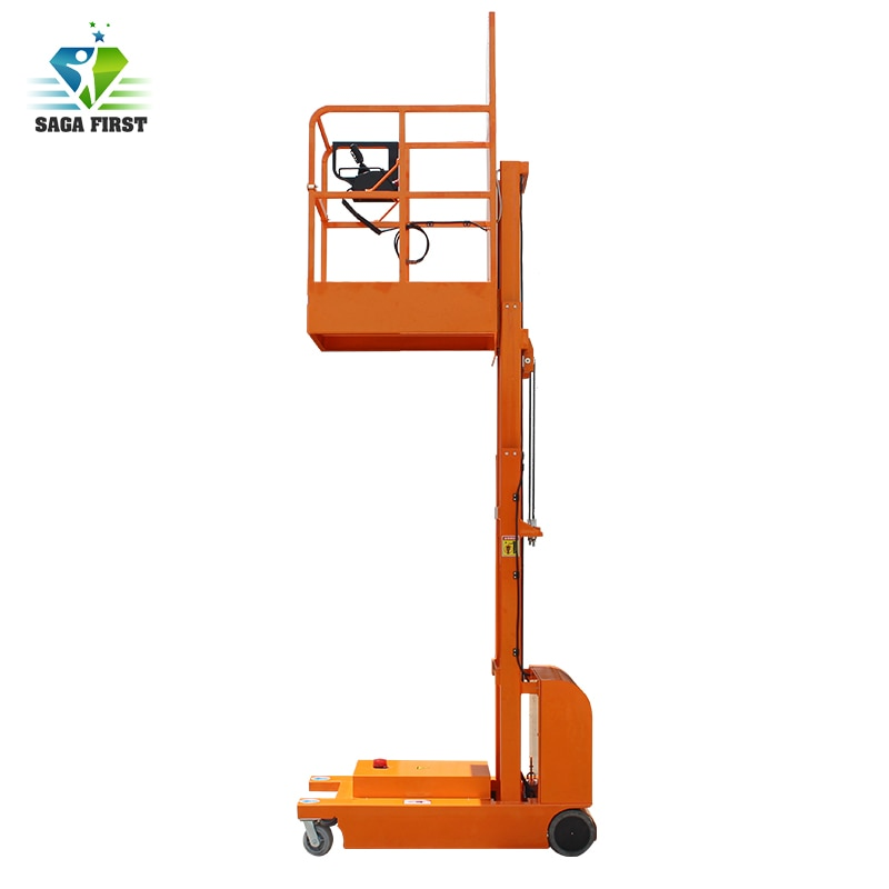 Autopropulsadas hidráulico para Picker 4M almacén uso eléctrica completa hidráulica aérea ascensor