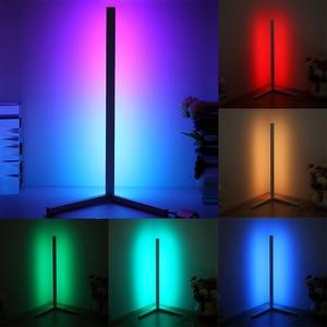 RGB Floor Lamp Wall Corner Floor Light with Remote Control Bedroom Living Decoration Indoor Standing Light Home Atmosphere Decor