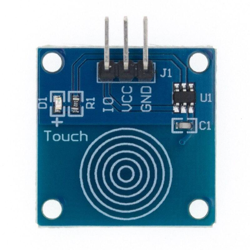 5 pces ttp223 ttp223b jog digital touch sensor capacitivo toque interruptor módulos acessórios