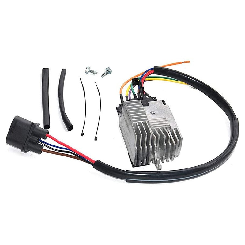 4F0959501G Radiator Fan Control Module for 05-11  A6 / A6 Quattro Car Accessories