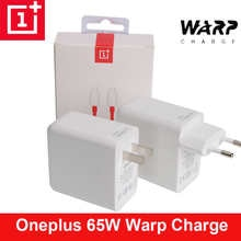 Оригинальный адаптер питания OnePlus Warp Charge 65, быстрое зарядное устройство для США, Великобритании, 65 Вт, 10 в, 6,5a, OnePlus 9 Pro, 9R, 8T, 8 Pro, 7T Nord, USB C на Type C