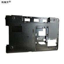 "GZEELE Verwendet laptop bottom fall basis abdeckung für Samsung NP300E 17.3 ""300E7A 305E7A NP300E7A NP305E7A BA75-03350A niedrigeren shell"