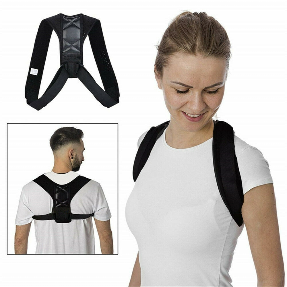 Corrector de postura de espalda ajustable soporte para la corrección de la postura estabilizador corrección de la postura clavícula columna vertebral hombro