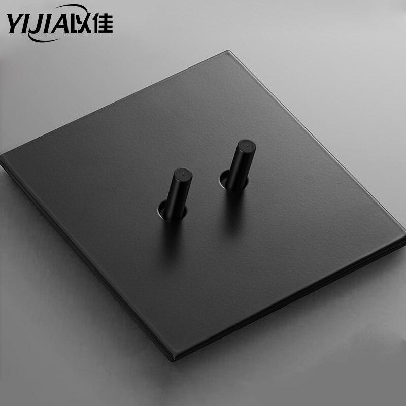 Mosiężny przełącznik do montażu ściennego przełącznik dwupozycyjny 220V oświetlenie vintage przełącznik 1gang/2gang/3gang 2way 10A przełącznik wallpad retro przełącznik do salonu