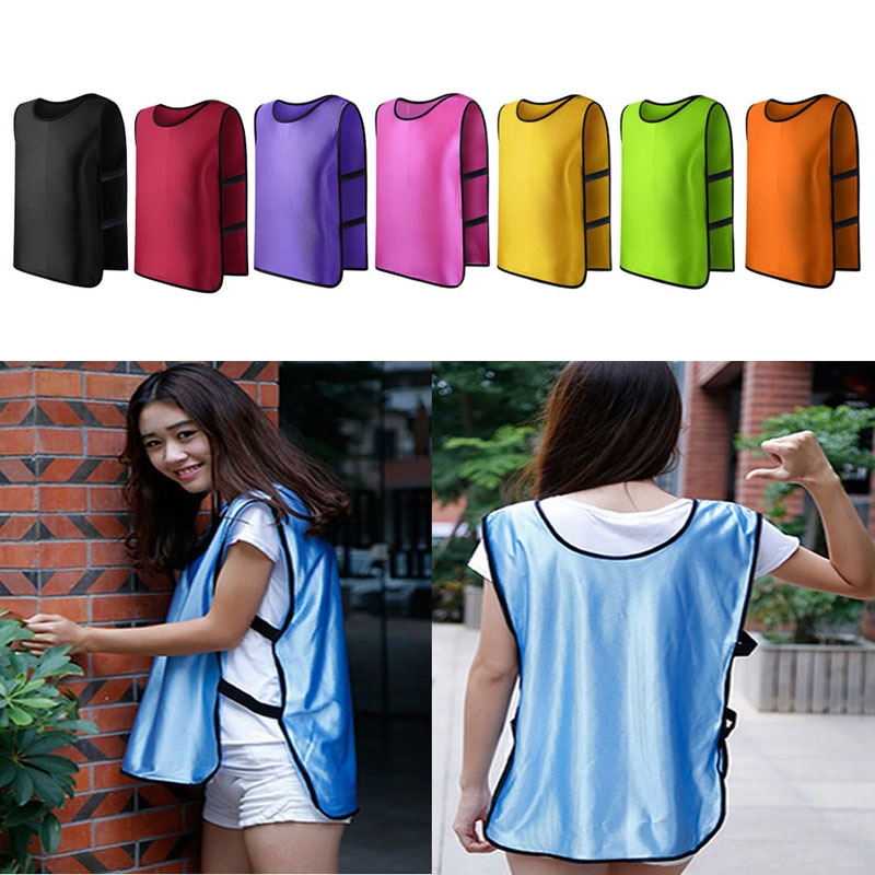 New Team Training Scrimmage Vests Soccer Basketball Youth Adult Pinnies Jerseys New 2020
