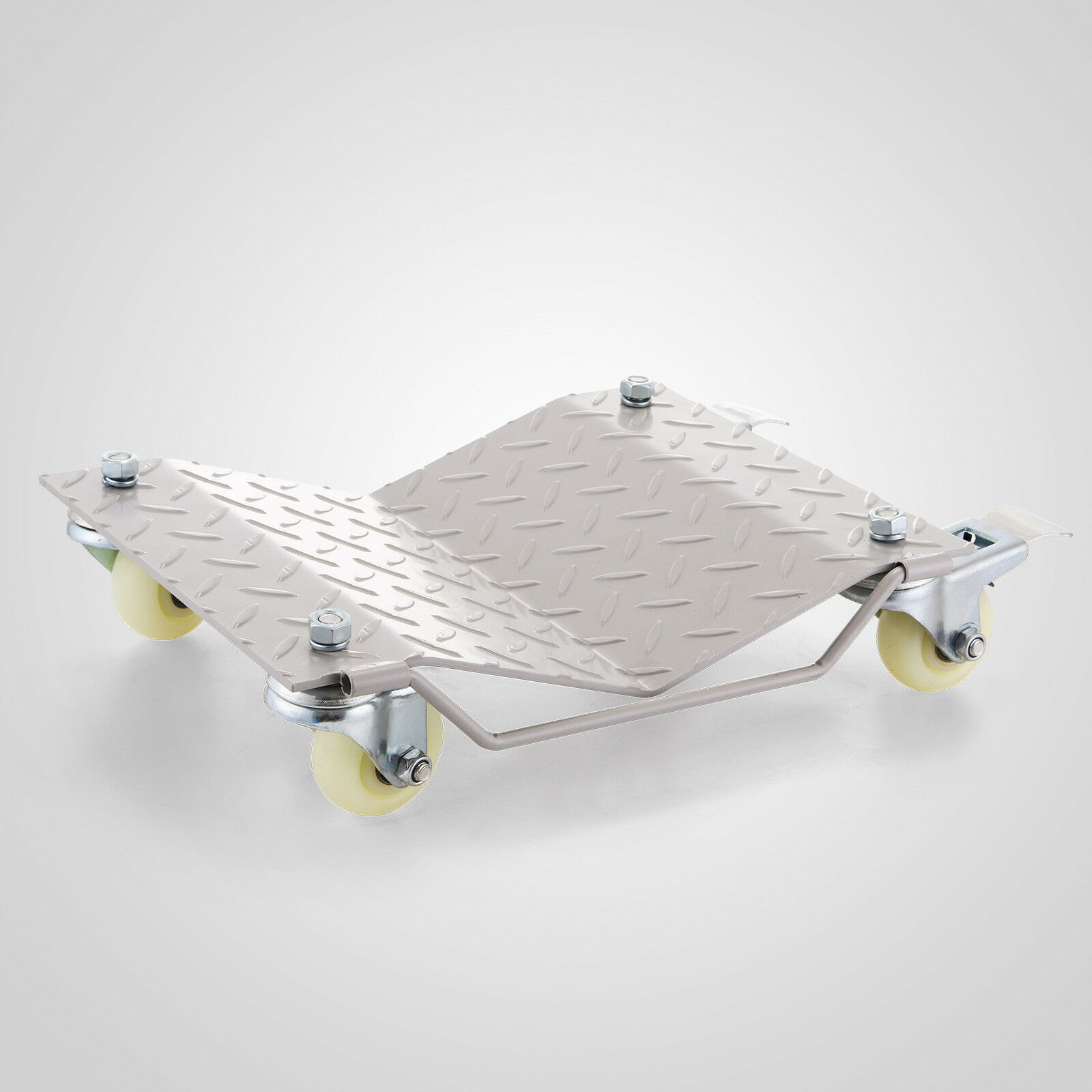 4 Wheel Dollies Skates Car Van Positioning Trolley 450kg Per Dolly Car