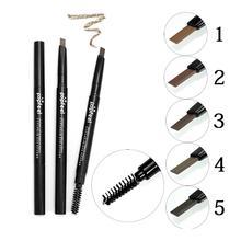 Eyebrow Enhancers Popfeel Two Sides Natural Eyebrow Makeup Pencil Liner Eye Brow Makeup Tool AL6 Maq