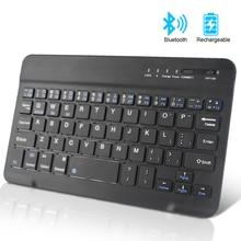Wireless Keyboard Mini Bluetooth Keyboard for iPad Apple Mac Tablet Keyboard for Phone Universal Support IOS Android Windows