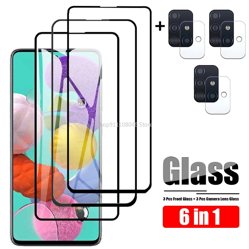 Camera Lens Tempered Glass For Samsung Galaxy A51 Glass Screen Protector For Samsung A51 Protective Film On Galax A 51 SM-A515F
