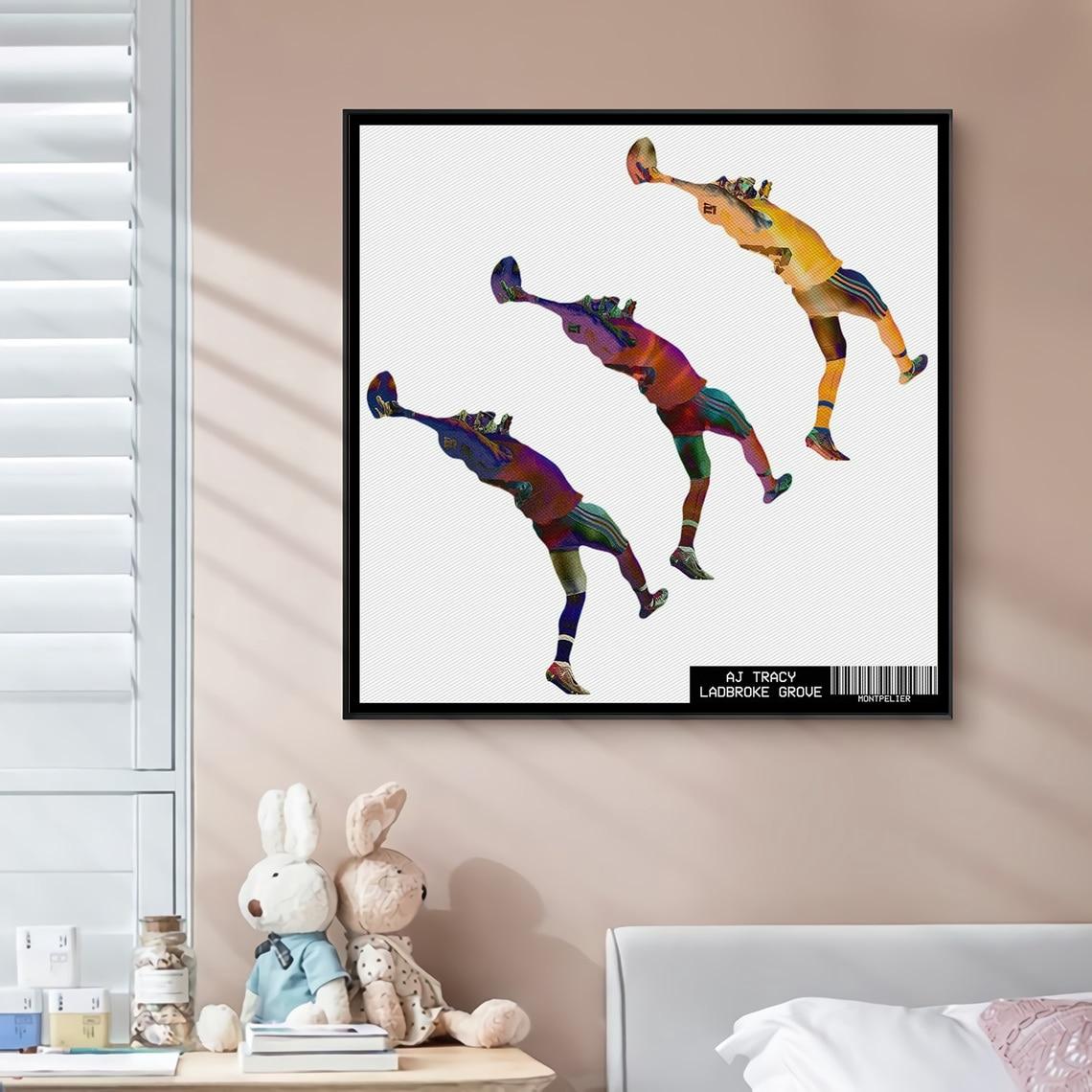AJ Tracy Ladbroke Grove Music Album Cover Canvas Poster Rap Star Pop Singer Wall Painting Art Decoration (No Frame)