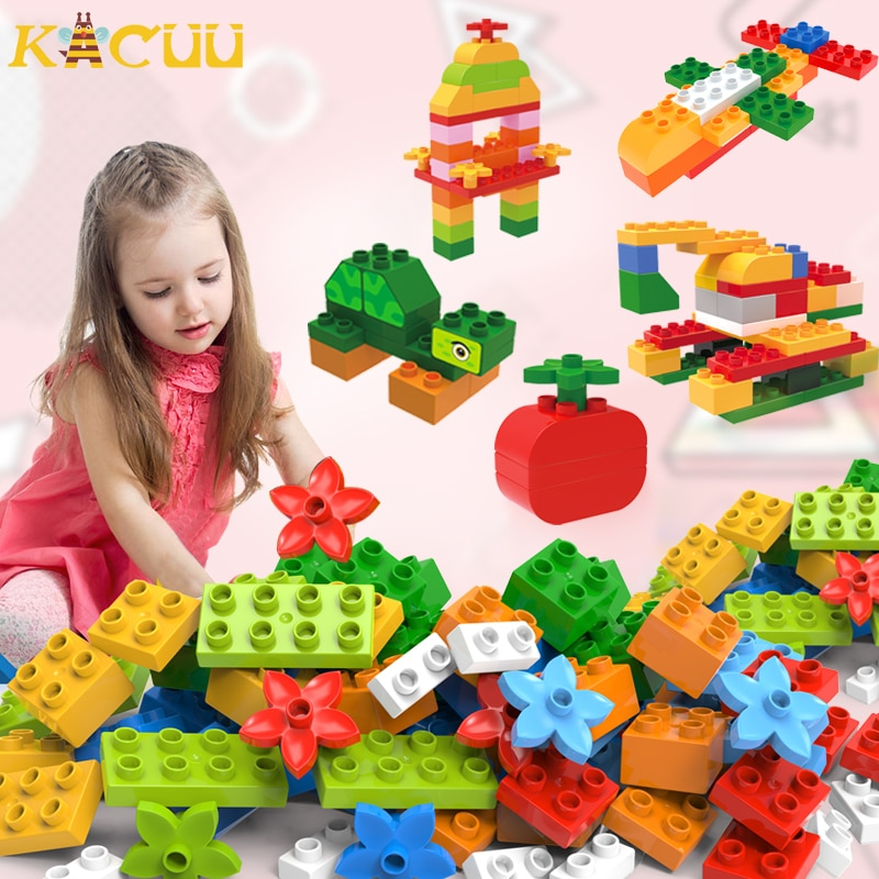 272PCS DIY Big Size Building Blocks Assembly Sets Construction Bricks Toys For Children Gifts