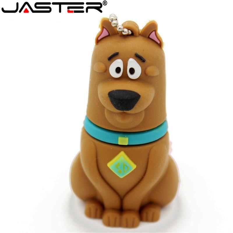 JASTER-Unidad flash USB 2,0 para perro, pendrive de 4GB, 8GB, 16GB, 32GB,...
