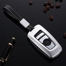 Housse de protection pour clés de voiture   En Aluminium, pour BMW 520 525 f30 f10 F18 118i 320i 1 3 5 7 séries X3 X4 M3 M4 M5, protection de style de voiture