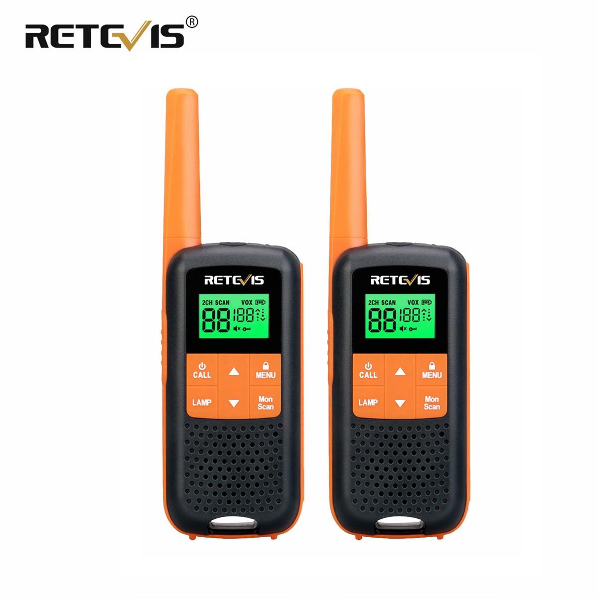 Retevis RT649/RT49 اسلكية تخاطب 2 قطعة IP65 للماء اسلكية اسلكي للصيد UHF PMR446 FRS الطوارئ اتجاهين راديو المحمولة