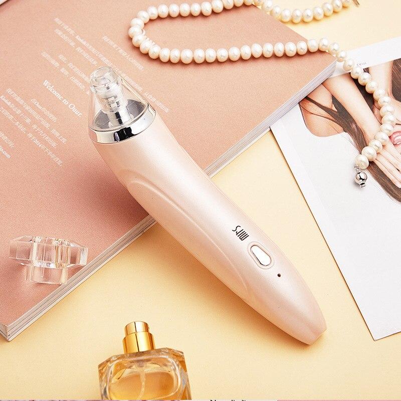 Instrumento eléctrico de limpieza de espinillas para el cuidado de la piel productos faciales limpiador de poros instrumento de limpieza exportador de acné