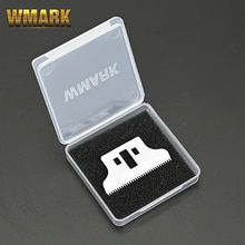 WMARK 8081 detailer trimmer Ceramic blade T-WIDE TRIMMER MOVABLE BLADE 32 teeth with box