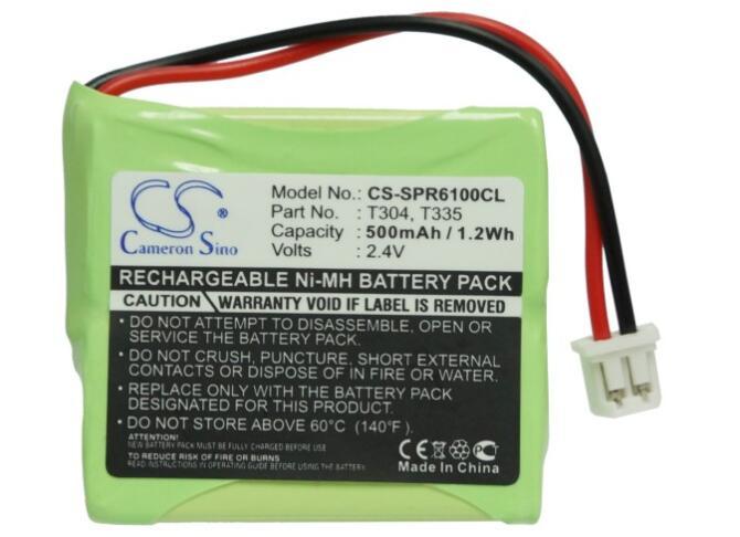 Batería de 500mah para SAGEM DCP 12-300 DCP 21-300 DCP 22-300 para SAMSUNG SP-R6100 R6100 doble R6100M R6100pp R6150