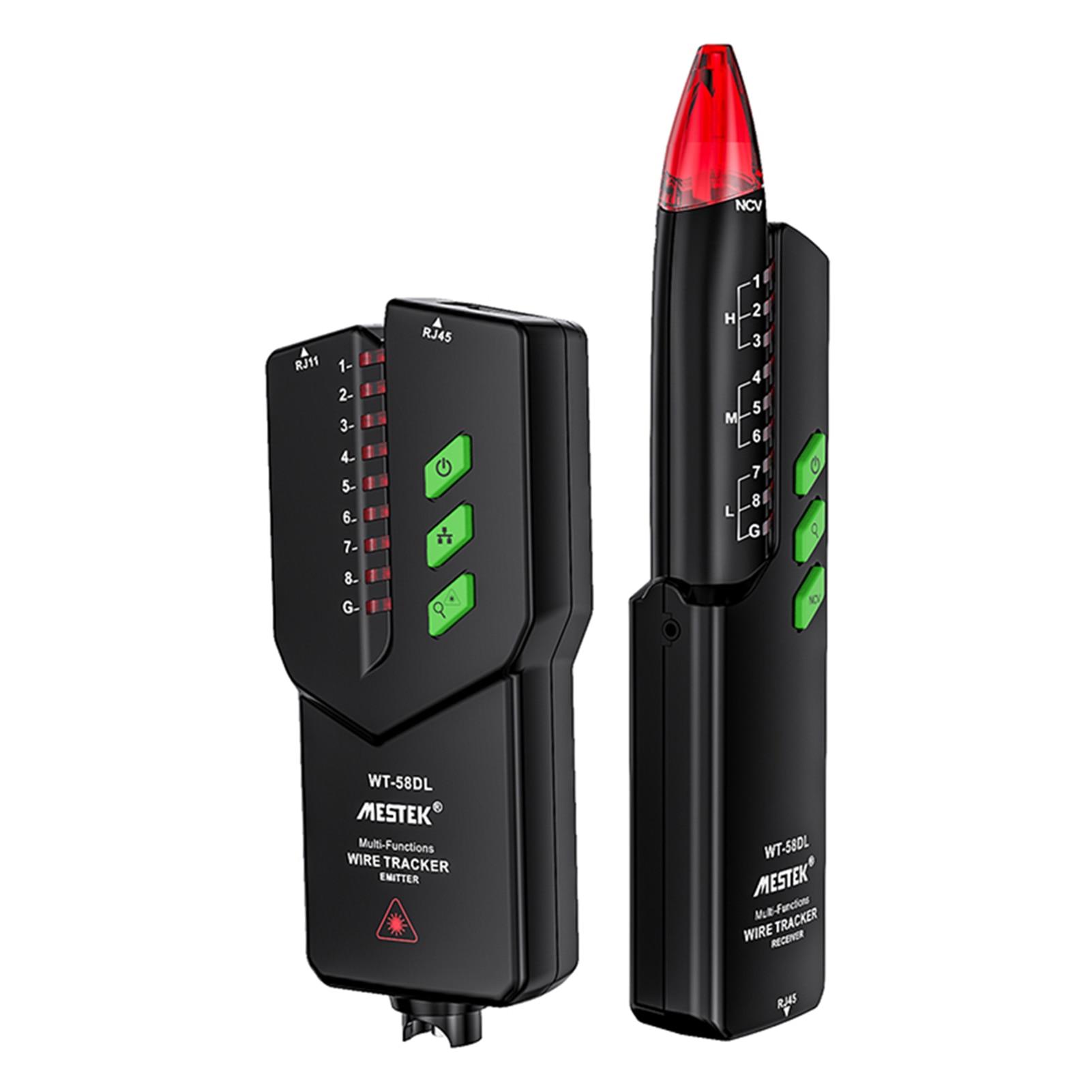 WT-58DL Tester de Cable de red de Cable rastreador de línea de...